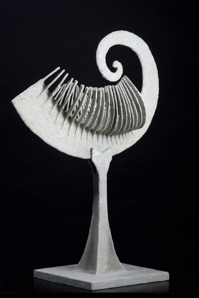 Evolversi. 2008. Carta vetrificata.  h cm 77. Copyright  A. Cocchi ©2008