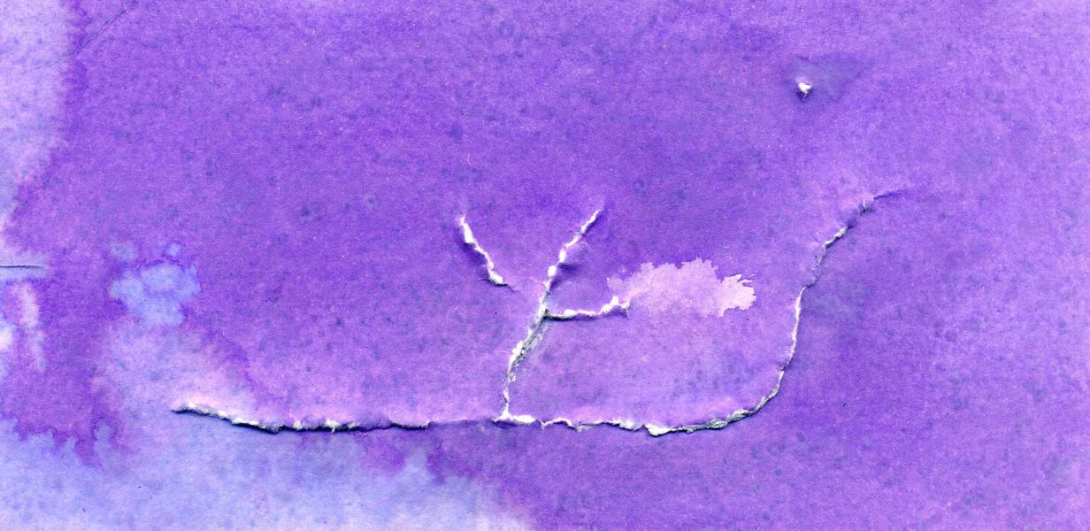 Ulisse I. 2002. Acquerello e rilievo su carta. cm. 21X29,5. Copyright  A. Cocchi ©
